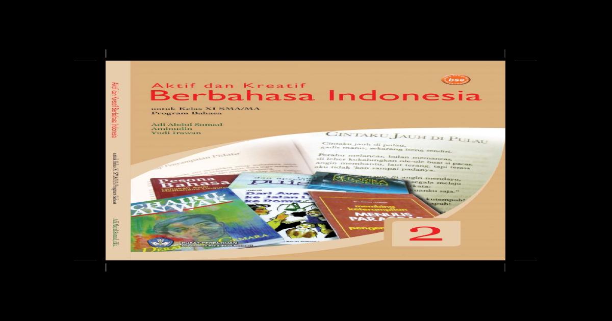 Bahasa Indonesia Kelas Xii Pdf Document