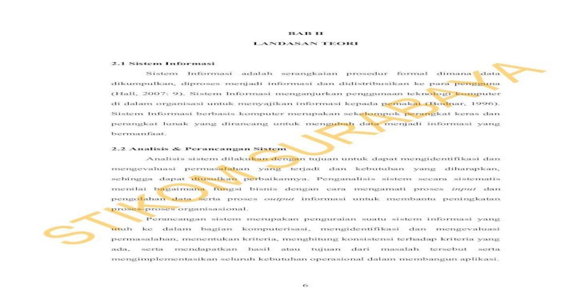 BAB II SURABAYA - II.pdf dokumen, jurnal, buku besar, buku ...