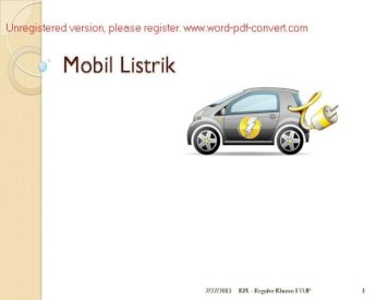 File1 Kpl Kel Vii Mobil Listrik Pdf Document